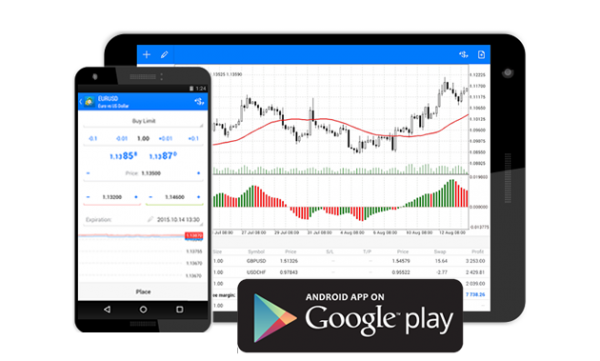 Download Metatrader 5 for Android